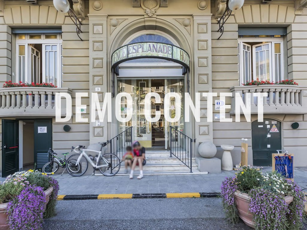 HOTEL RESIDENCE ESPLANADE VIAREGGIO // Demo Content