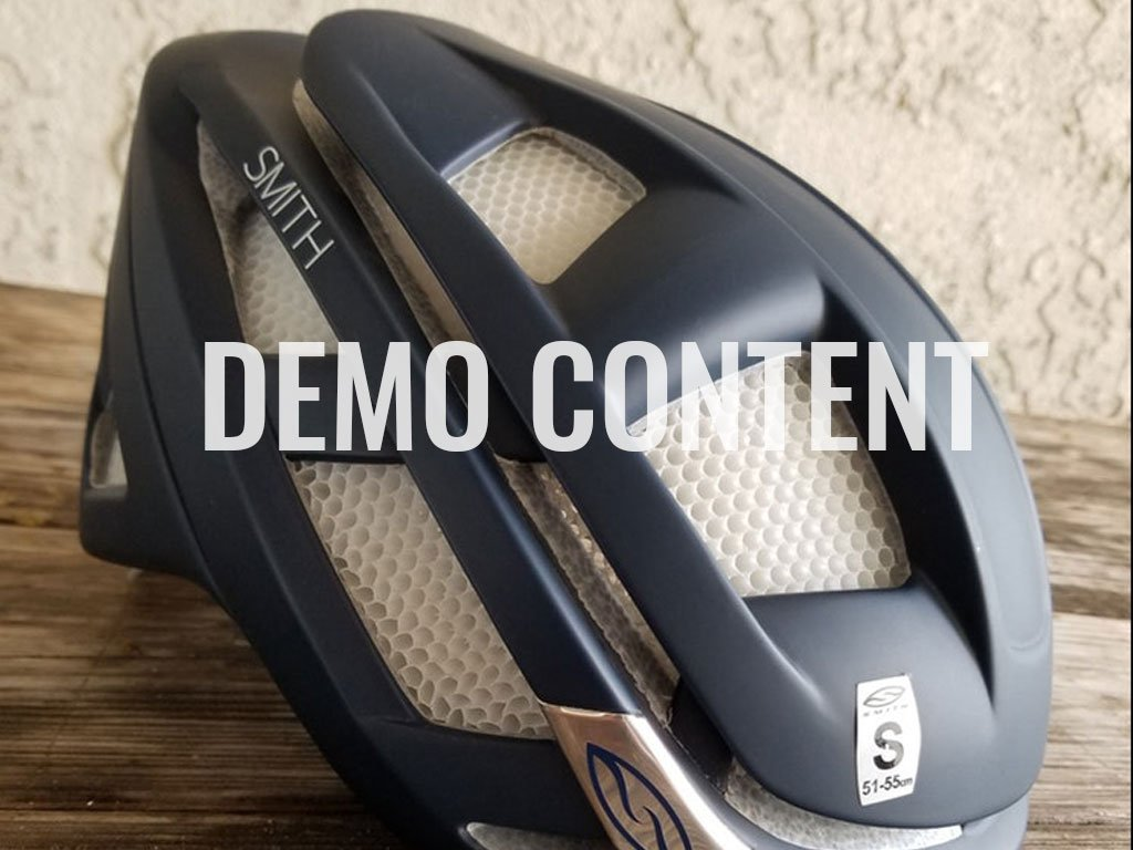 Smith Overtake Helmet Small 2015 / Demo Content