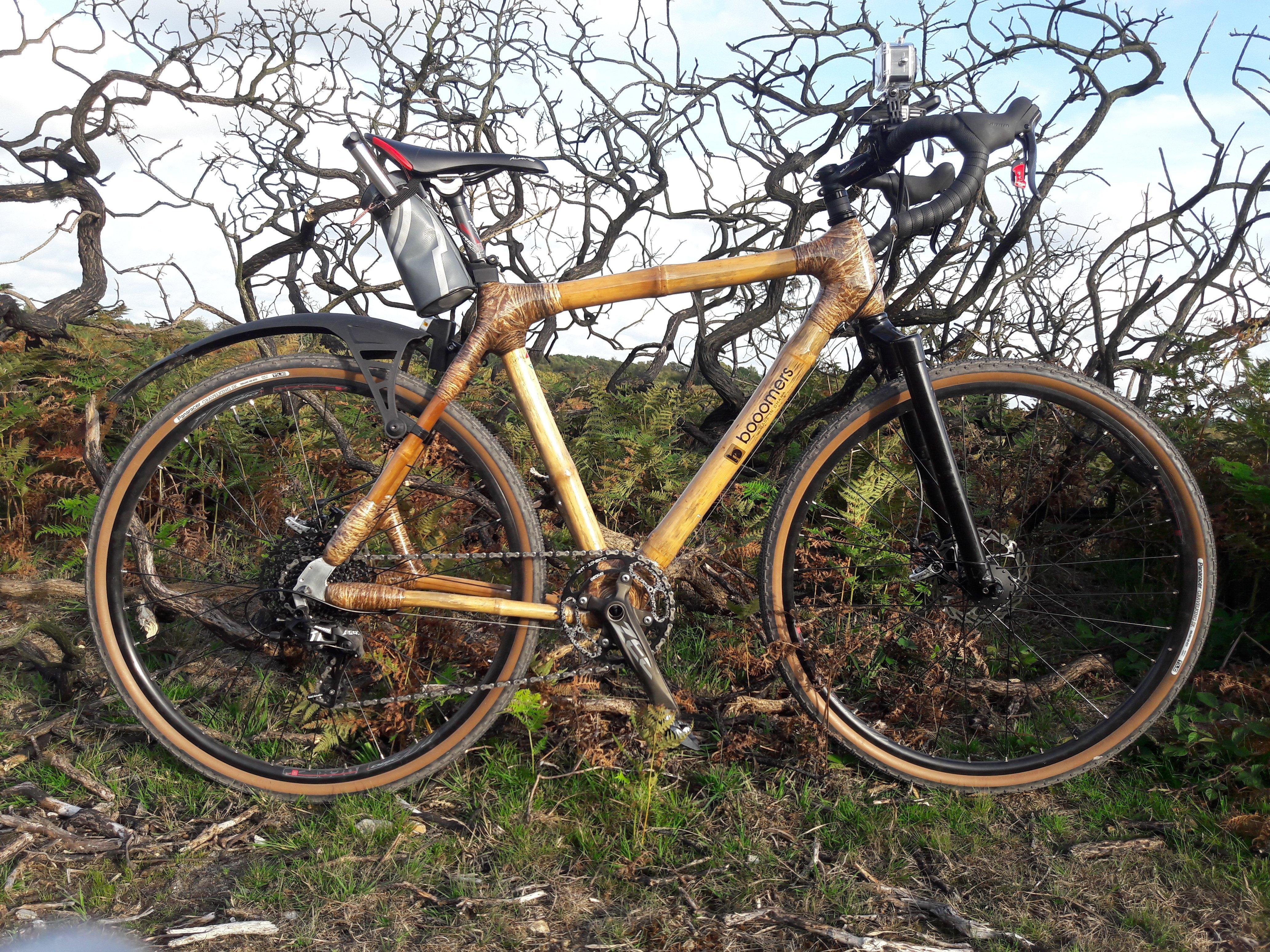 Bamboo framed 1×11 gravel bike