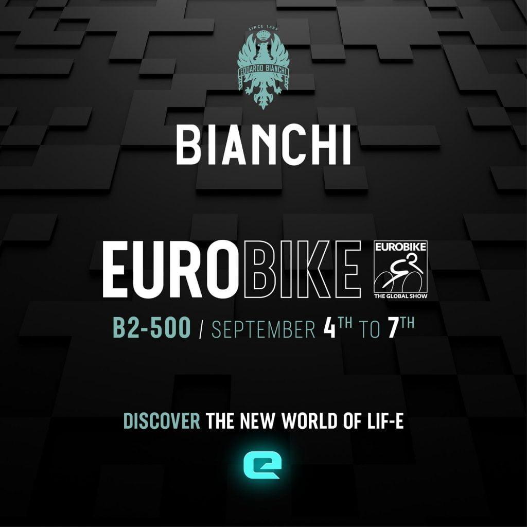 BIANCHI LIF-E REVOLUTION LANDS AT EUROBIKE