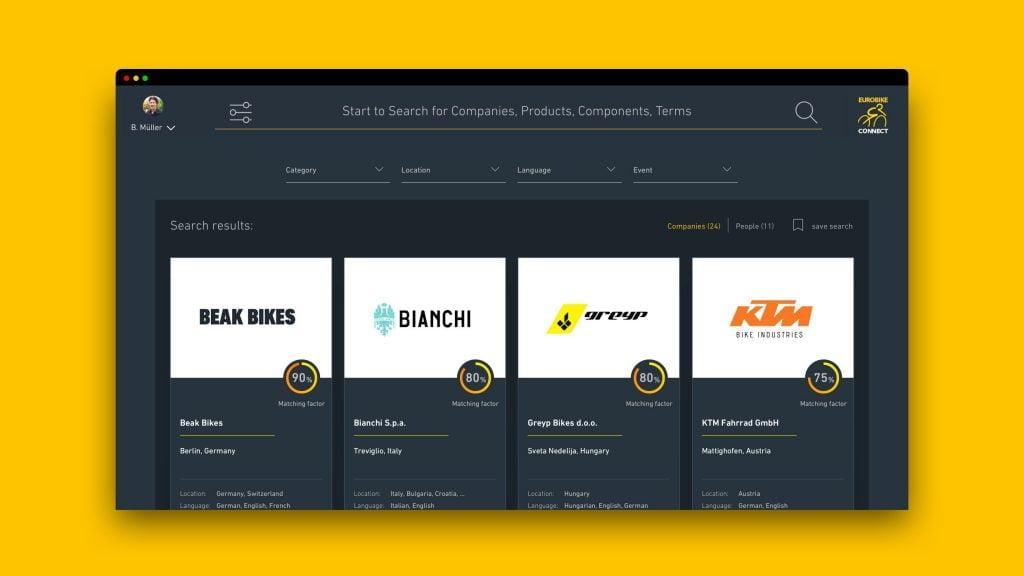 Eurobike Connect: The new digital platform bringing the bike world closer together