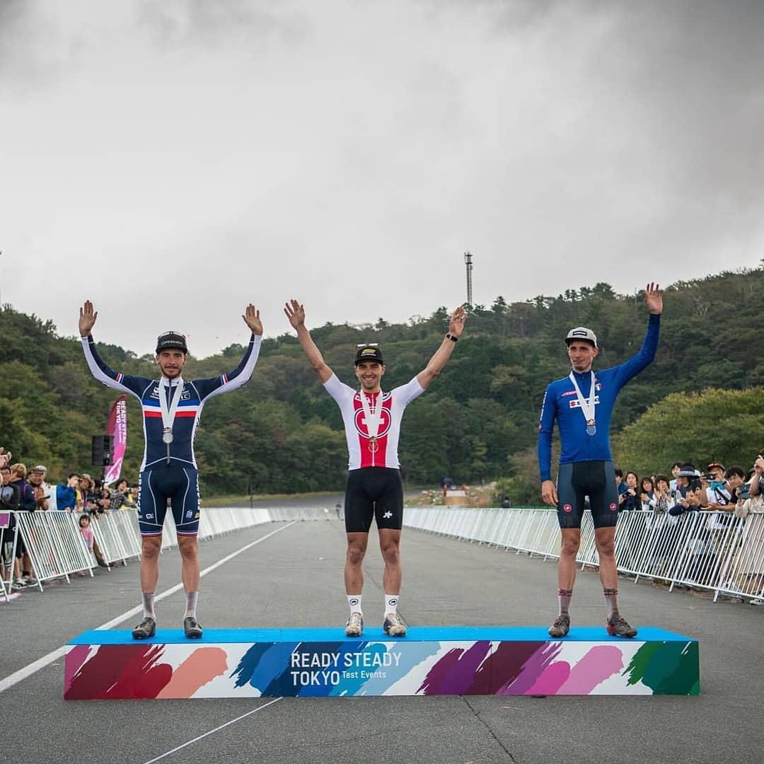 CICLI OLYMPIA : TEST EVENT XCO: A TOKYO LUCA BRAIDOT CONQUISTA IL BRONZO