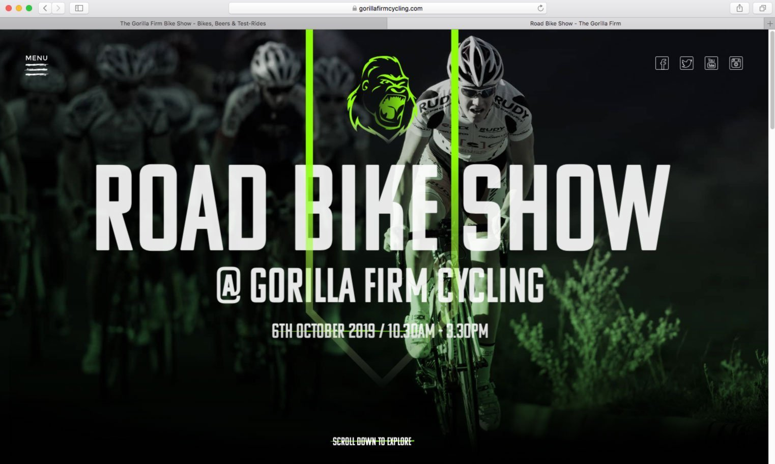 The Gorilla Firm – Road Bike Show – Oundle UK