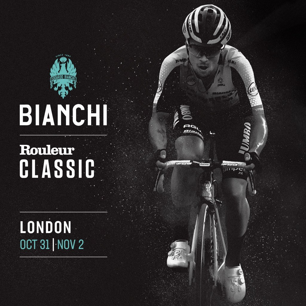 BIANCHI HEADS TO LONDON AT ROULEUR CLASSIC