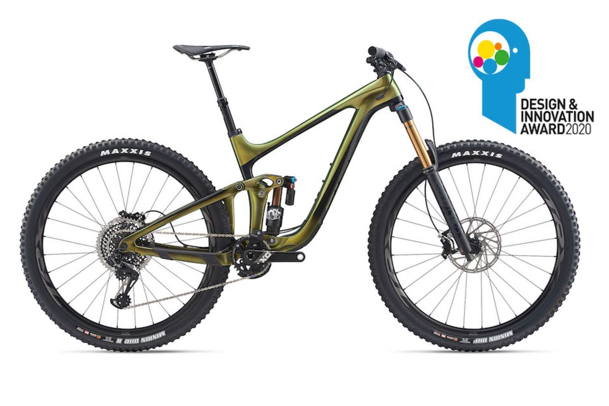 GIANT CYCLES : REIGN ADVANCED PRO 29 WINS DESIGN & INNOVATION AWARD!