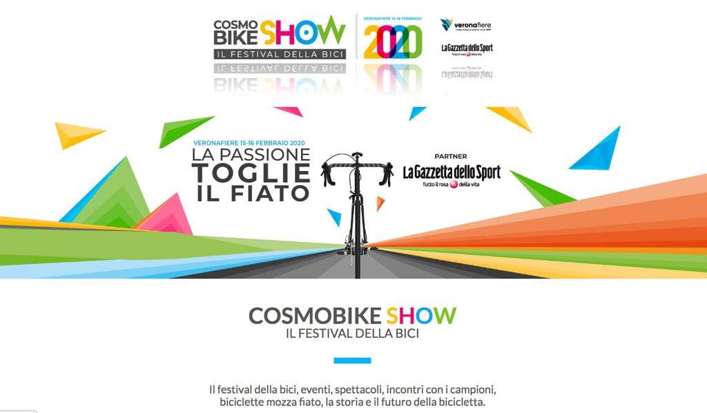 Cosmobike 2020 – Manca un mese al primo grande evento del calendario ciclistico Italiano