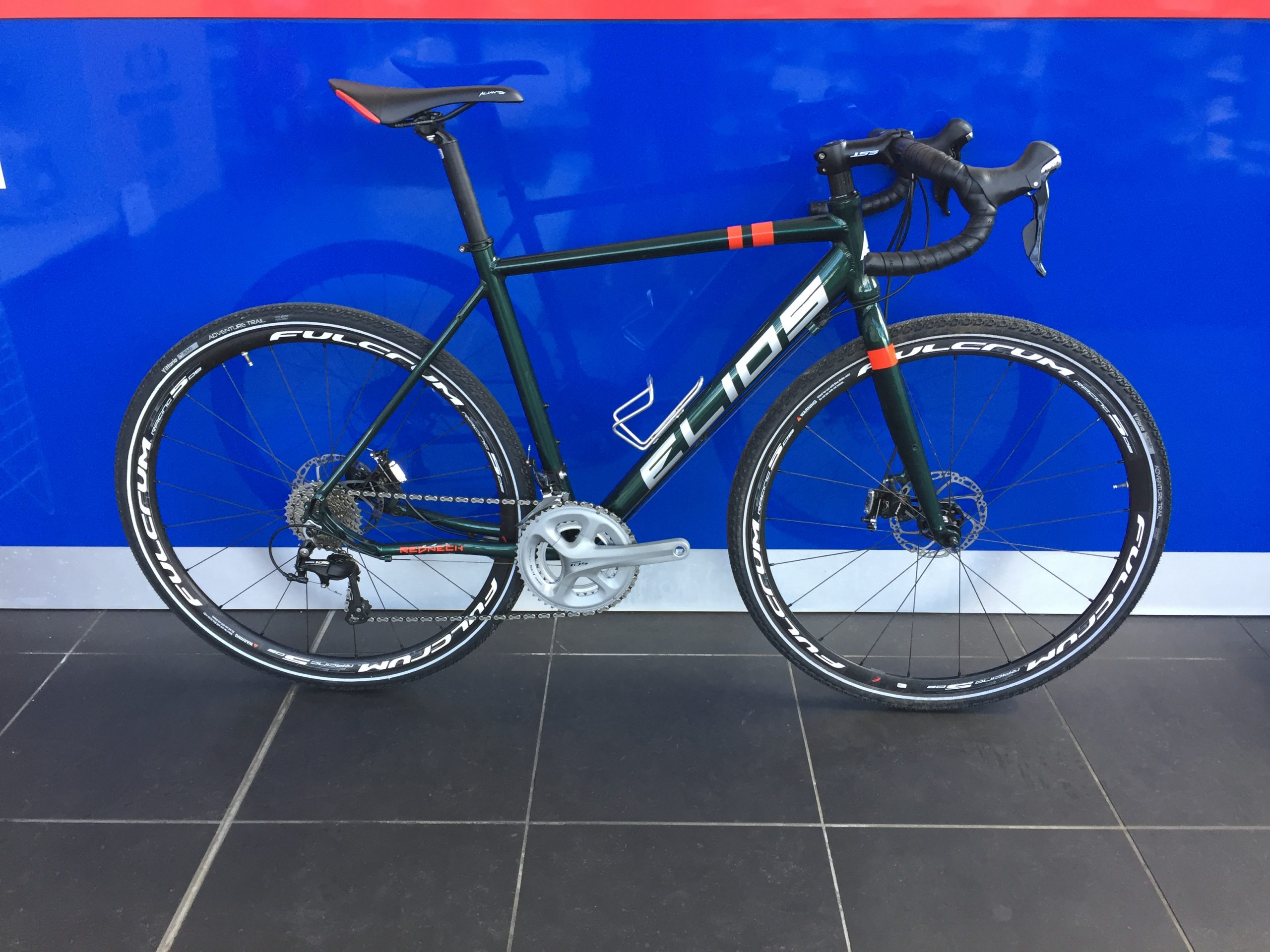 Elios Redneck Alu Gravel – GRX BUILD