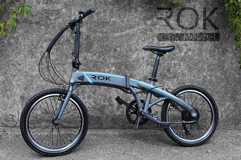 ROK Electric Folding Bike