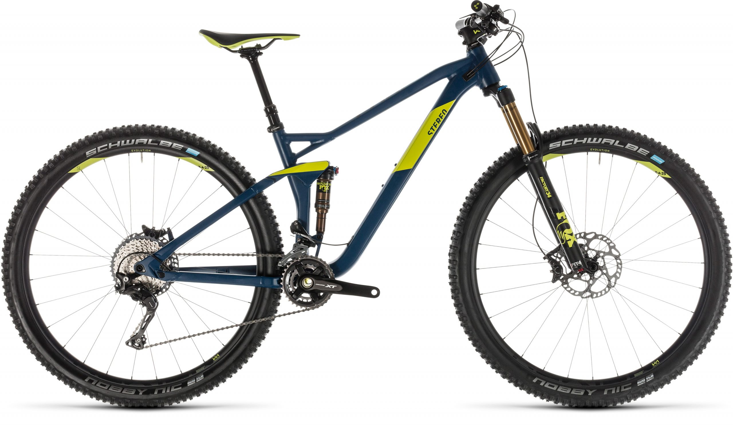 Cube Stereo 120 SL 29er Full Suspension Mountain Bike 2019