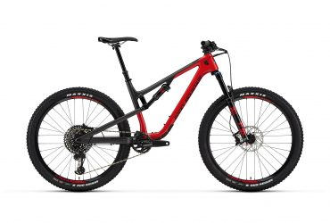 Rocky Mountain Thunderbolt C50 Full Suspension 2019 Flamin Red/Smoke