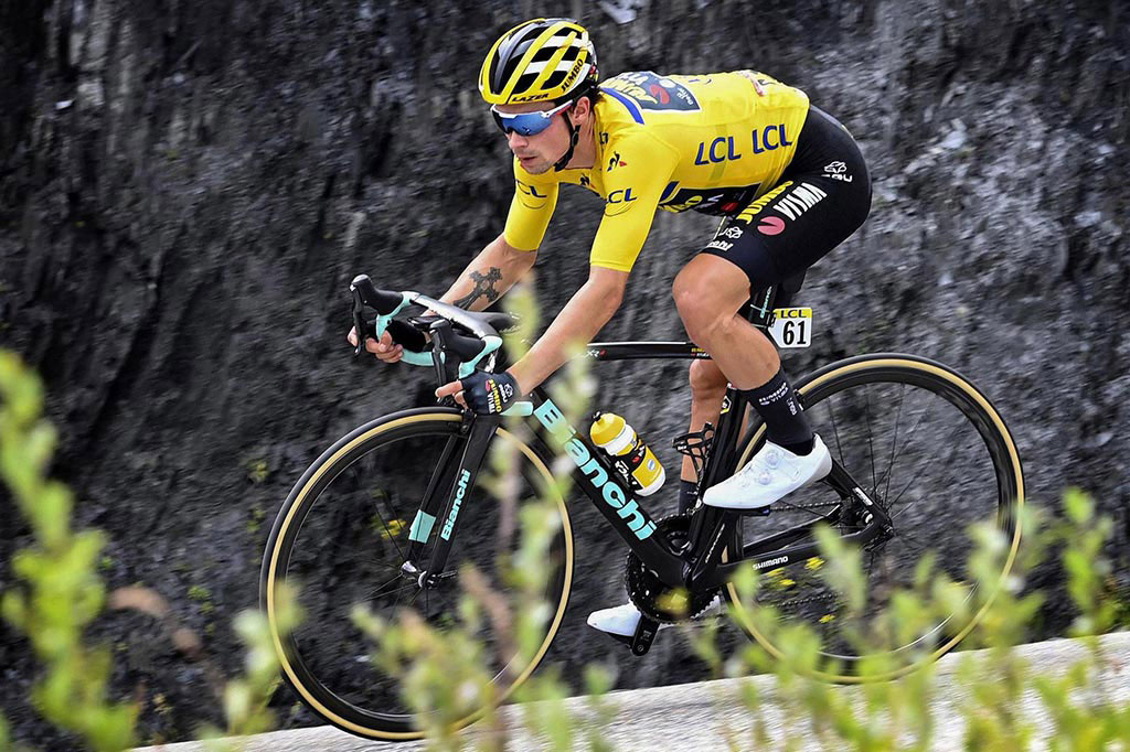 BIANCHI TARGETS YELLOW WITH ROGLIC AND TEAM JUMBO-VISMA